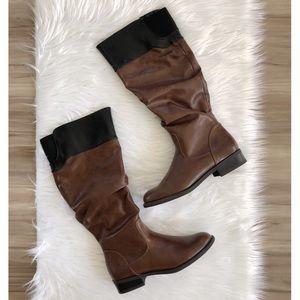 Nine West Leonora wide calf boots